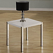 Home Essence Boston Lamp Table in White
