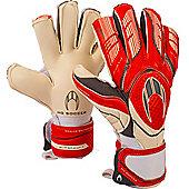 ho Ghotta Roll/Flat Protek Goalkeeper Gloves Size - White