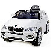 Licensed 12V BMW X6 White