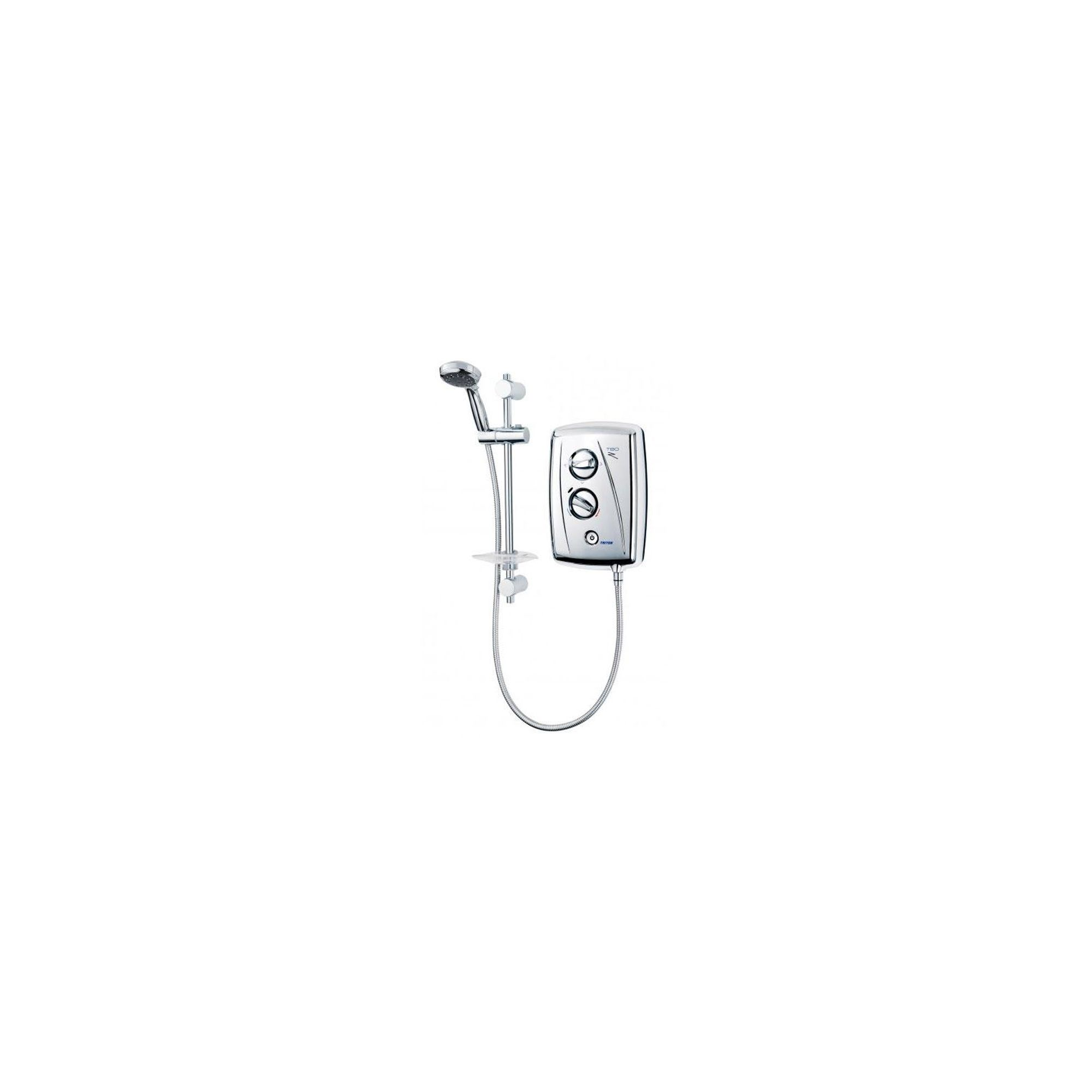 Triton T80Z Fast-Fit Electric Shower Chrome 10.5 kW at Tescos Direct