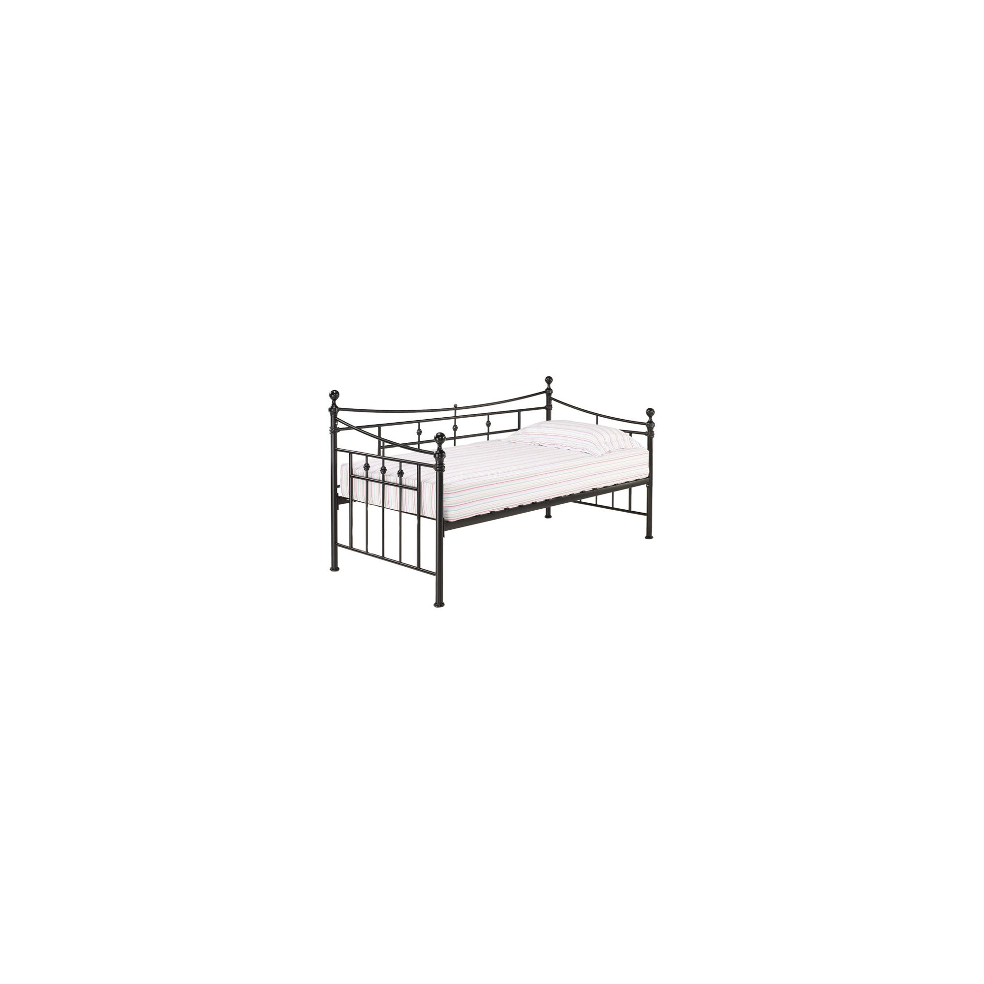 Home Zone Olivia Day Bed Frame - Black