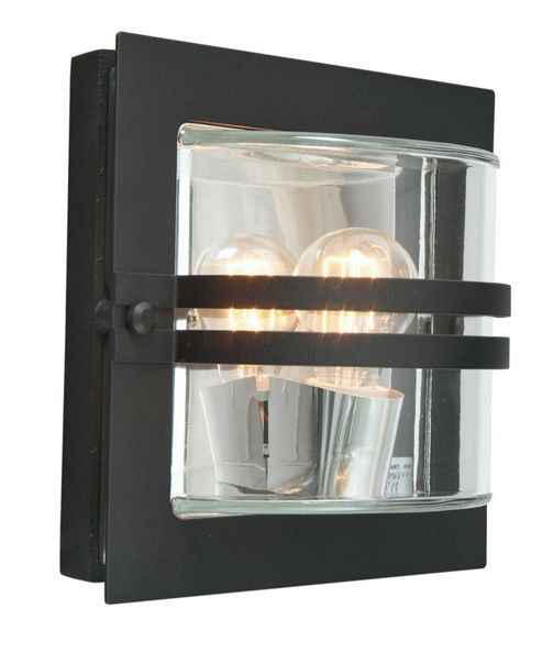 Buy Norlys Bern Wall Light - Black from our Outdoor Lanterns range - Tesco