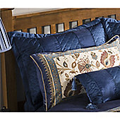 Catherine Lansfield Home designer collection Navy Rochester/ Classique Pillowsham