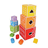 Bigjigs Toys Stacking Cubes