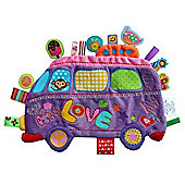 Label Label Holiday Comfort Blankie (Love Bus)