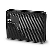 WD My Passport X 2TB Gaming Storage Hard Drive Black