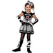 """""""Scare """"""""U"""""""" Cheerleader - Child Costume 4-6 years"""""""