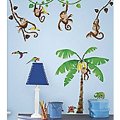 Monkey Business Wall Stickers