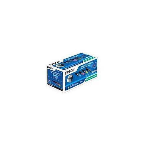 Epson Aculaser C1100 Economy Pack - 4 Toners