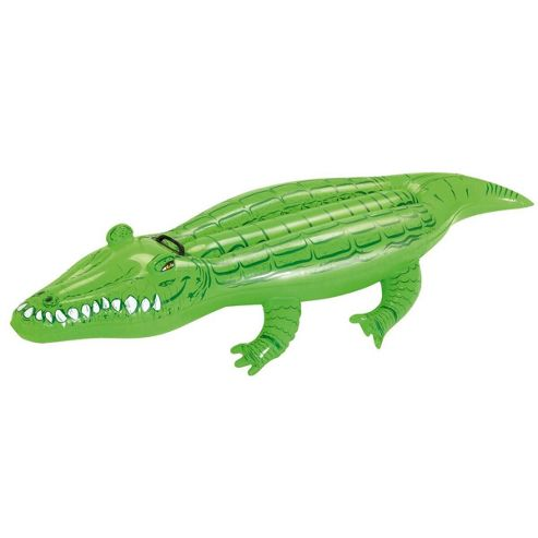 Buy bestway 66 x 31 inflatable crocodile from our water for Garden pool tesco