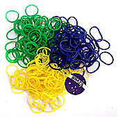 Jacks Brazil Bracelet Refill Pack - 250 Loom Bands