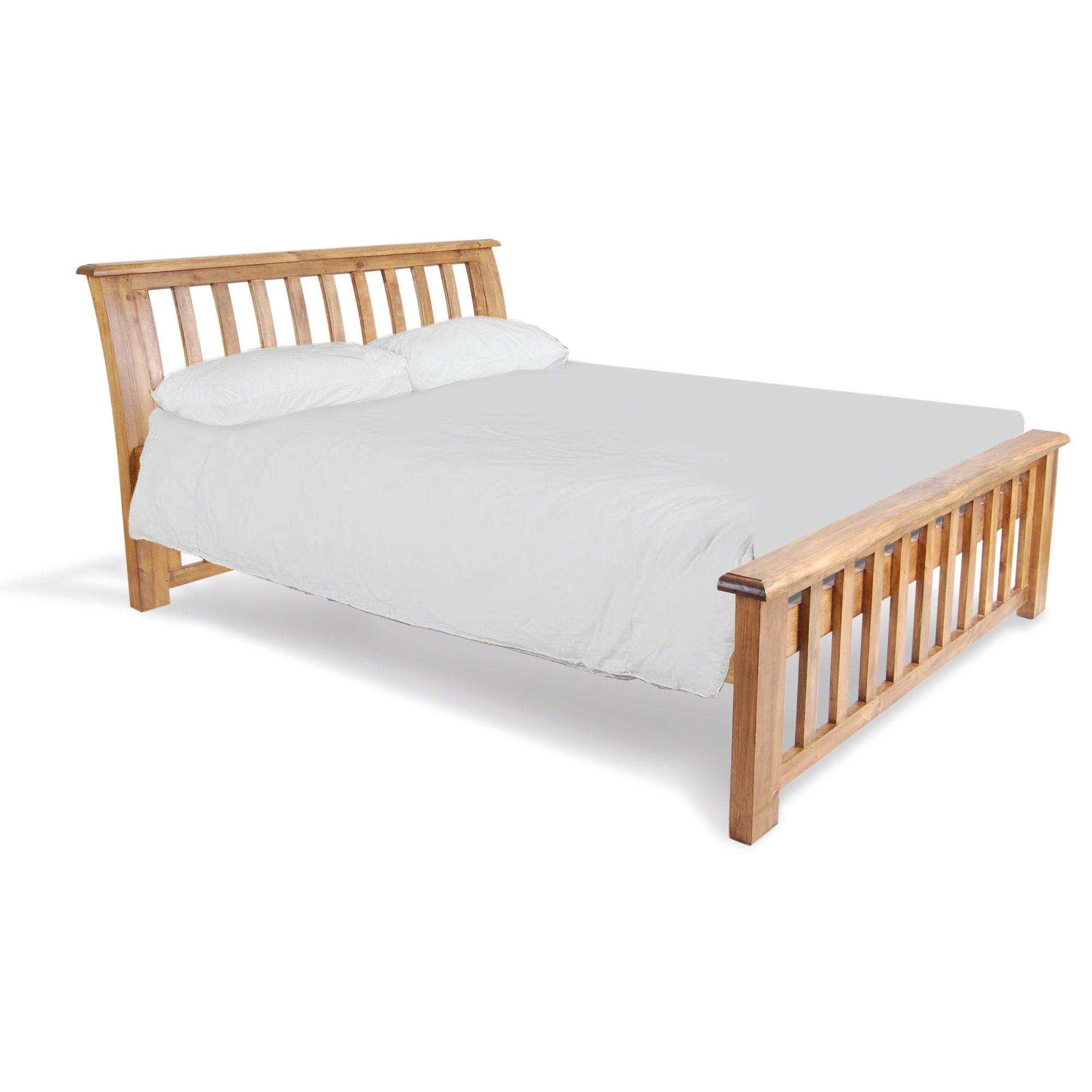 Oceans Apart Vintage King Sleigh Bed Frame at Tescos Direct