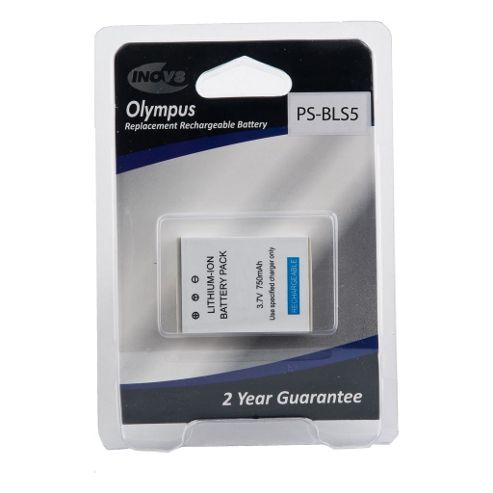 Olympus BLS5 Camera Replacement Battery