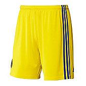 2014-15 Chelsea Adidas Away Shorts (Yellow) - Yellow
