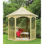 9ft x 8ft Burford Gazebo - Assembled 9 x 8