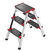 Hailo 240cm L90 225 ChampionsLine Aluminium Folding Steps