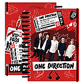 One Direction A5 Spiral Notebook