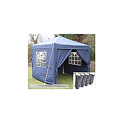 Airwave Pop Up Gazebo Fully Waterproof 2.5x2.5m in Blue
