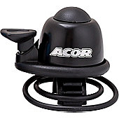 Acor Alloy Mini Bicycle Bell, Black