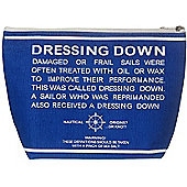 Parlane Nautical Sailing Blue & White Toilettries Bag - 21 x 31cm