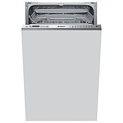 Hotpoint Slimline Built-In Dishwasher, LSTF9H117C, White