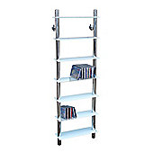 Matrix - Wall Mounted Glass Cd / Media / Storage Shelves - White
