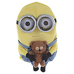 Despicable Me Minions Bobby & Bear Soft Toy Backpack