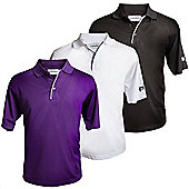 Forgan Of St Andrews Mxt Mens Golf Polo Shirts - 3 Pack Large
