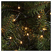100 Christmas Microlights, Clear