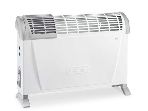 Delonghi HS20/F Convector Heater with Fan Boost, 2kW - White