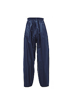 Regatta Kids Stormbreak Waterproof Over Trousers - Navy