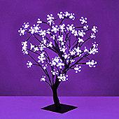 45cm LED Bonsai Tree with Purple Lights