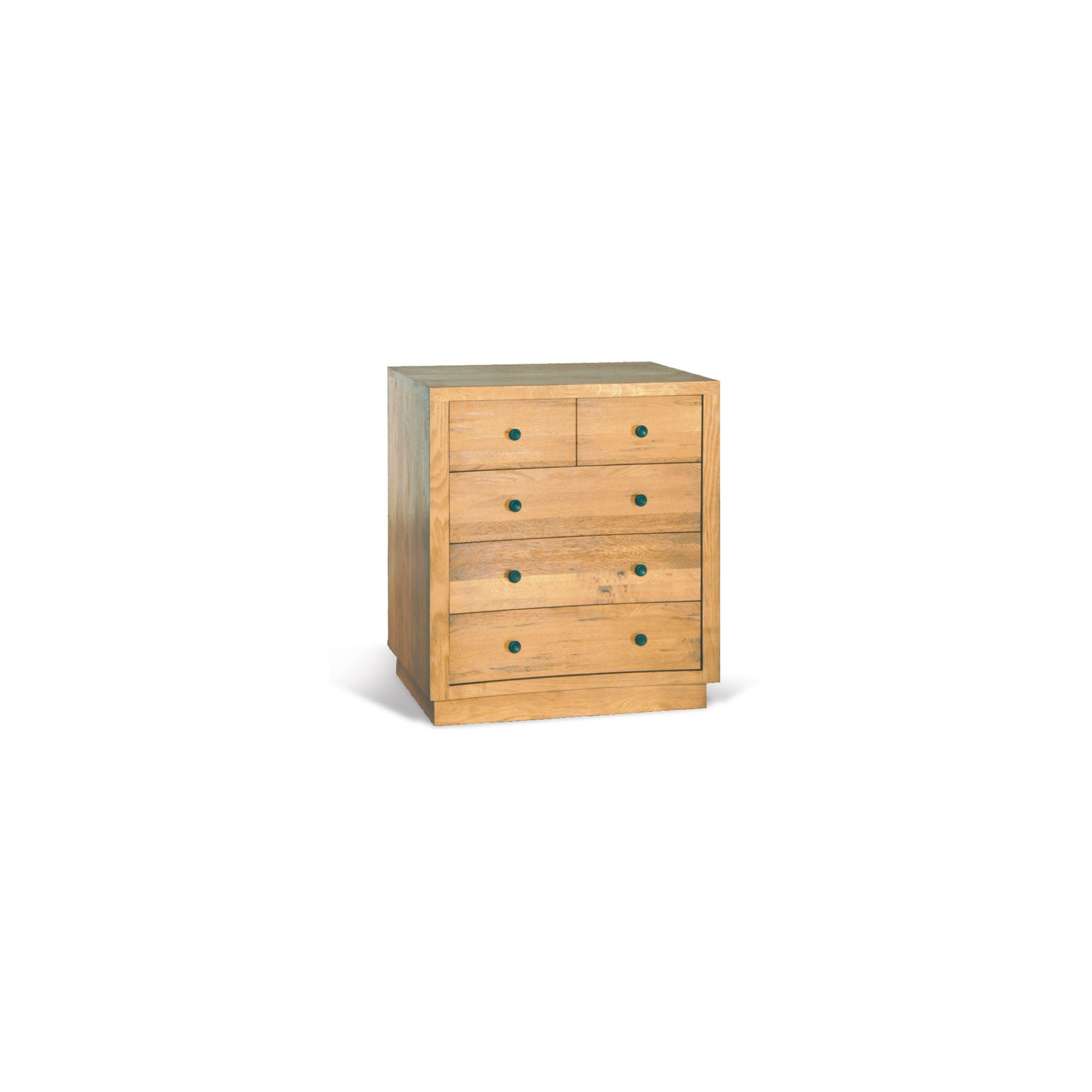 Oceans Apart Orleans Oak Two Over Three Drawer Chest in Oak at Tesco Direct