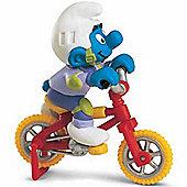 Schleich Super Smurfs Biker Smurf