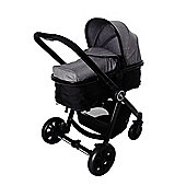 Red Kite Push Me Fusion + Parent Console Travel System (Platinum)