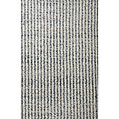 InRUGS Nature Style Steel Grey Woven Rug - 290cm x 200cm (9 ft 6 in x 6 ft 6.5 in)