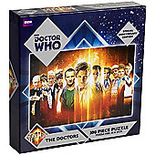 BBC Doctor Who Special Anniversary Edition Puzzle - The Doctors (300 Pieces)