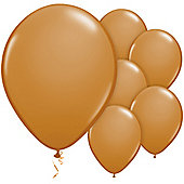Mocha Brown Balloons - 11' Latex Balloon (100pk)