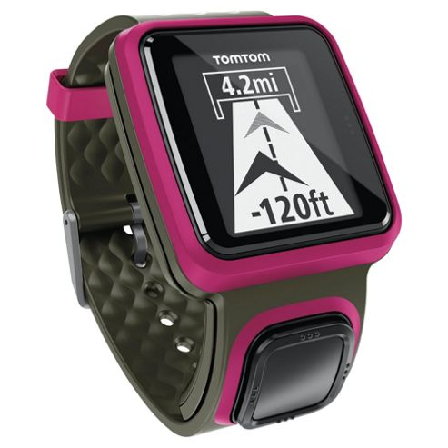 TomTom Runner GPS Watch - Dark Pink