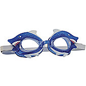 Bremshey Shark Design Junior Swimming Goggles