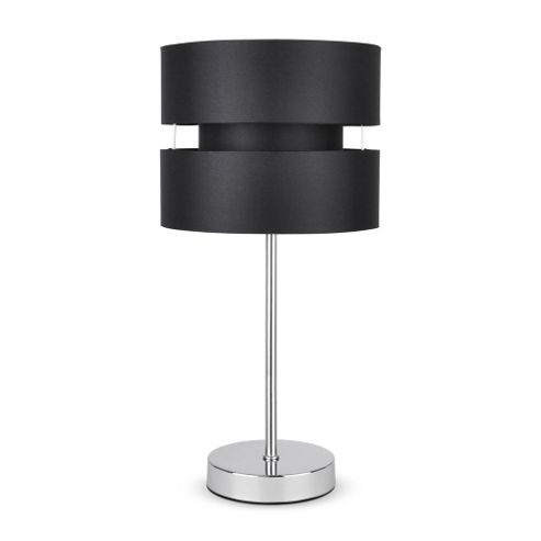 Buy pinto stick touch table lamp chrome black from our table lamps range tesco - Black touch lamps bedside ...