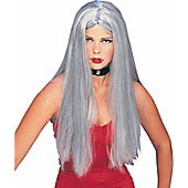 Witch Long Wig - Grey 60cm