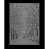 Fibre Optic Christmas Canvas - Snowy Avenue