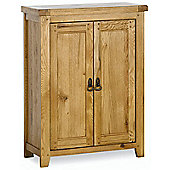 Kelburn Furniture Veneto Rustic Oak 2 Door Cupboard
