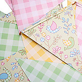 Garden Party Paper Bunting
