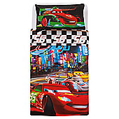 Disney Cars Neon Racers Duvet Set Single