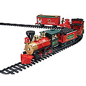 Battery Operated North Pole Express Christmas Train and Track