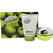 DKNY Be Delicious Gift Set 50ml EDP + 100ml Body Lotion For Women
