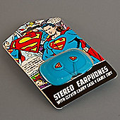 DC Comics Superman Stereo Earbuds