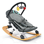 Concord Rio Baby Rocker with Toy Bar (Shadow Grey)